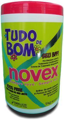 Resenha Creme Multifuncional Tudo de Bom Novex - o BFF dos cachos (pre-shampoo, leave in, máscara de tratamento condicionante e creme de tratamento ultraprofundo)