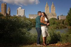 NYC engagement photo