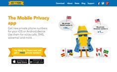 Hide My Phone! 免費產生世界各國臨時手機號碼,保護你的個人隱私資訊