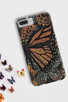 Obsessing over this butterfly case 🦋😍Available for iPhone or Samsung. #butterflycase #phonecases #phonecovers Phone Covers, Butterfly, Samsung, Iphone, Mobile Covers, Phone Case, Butterflies