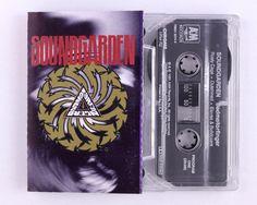 Soundgarden – Badmotorfinger Cassette Tape by JeepsterVintage on Etsy