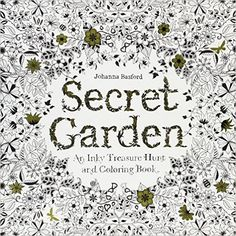 Secret Garden: An Inky Treasure Hunt and Coloring Book: Johanna Basford: 9781780671062: AmazonSmile: Books