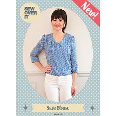 Susie Blouse PDF Sewing Pattern