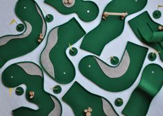 Felt Tabletop Mini Golf | Perfect for an indoor activity