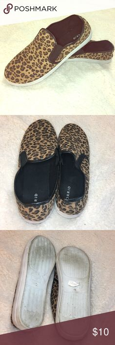 Torrid Leapord Slip ons The wharehouse shipped me a Left 13 and a Right 12, if you are a narrower size 12 they will fit you well as they run a bit snug. Only worn twice, super cute shoe! torrid Shoes Sneakers