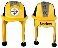 Pittsburgh Steelers Mascot Themed Dangle Hat