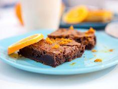 Brownie à la grecque de Juan Arbelaez Chefs, Brownies, Sweet Recipes, Biscuits, Muffins, Good Food, Pains, Breads, Photos