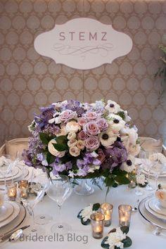 My dream wedding flowers: Vanda Orchids - Black Magic and Anemones