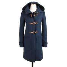 jcrew classic toggle coat