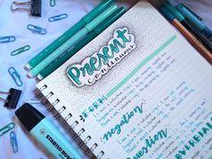 Bullet Journal School, Journal Fonts, Bullet Journal Notes, Bullet Journal Ideas Pages, Cute Notes, Pretty Notes, Good Notes, Class Notes, School Notes