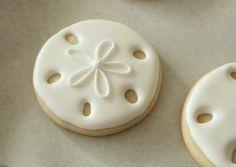 Simple Sand Dollar Cookies