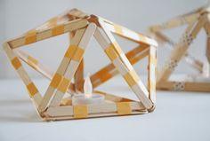 Popsicle icosahedron diy | Allihoppa