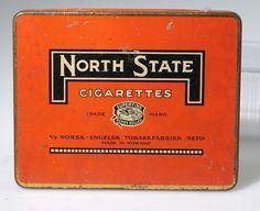 North State Cigarettes Vintage Posters, Poster Vintage