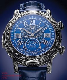 The Watch Quote: The Patek Philippe Sky Moon Tourbillon Ref. 6002 watch - The grand creation of a grand complication Amazing Detail Patek Philippe, Amazing Watches, Beautiful Watches, Cool Watches, Dream Watches, Fine Watches, Men's Watches, Stylish Watches, Luxury Watches For Men