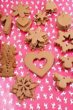 pierniki na choinkę Christmas Eve, Christmas Cookies, Xmas, Cake Cookies, Cupcakes, Gingerbread Cookies, Ale, Recipies, Cooking Recipes