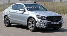 Mercedes GLC Coupe Breaks Cover - Mercedes GLC Forum