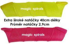 Natáčky magic spirals Extra široké 40cm