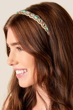 Nakoma Beaded Headband