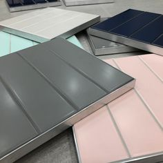 NEW!! Satin subway colours 💕 . . #tileperfection #bathroomdesign #bathroombliss #bathroomrenovation #modernbathroom #designertiles… Modern Bathroom, Satin, Colours, Subway Tiles, Instagram, Design, Funky Bathroom, Elastic Satin