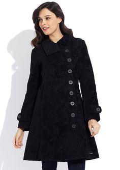 DESIGUAL Black Genna Coat