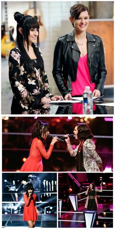 "#MiaZanotti Vs #AshleyMorgan on The Voice Season 8 Episode 6. See Mia and Ashley's ""Battle Round"" pictures, gifs and more http://hllywdjnkt.co/1EcWxlb#s08e06"