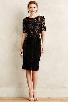 Byron Lars Carissima Sheath in Black Size from Anthropologie. Shop more products from Anthropologie on Wanelo.