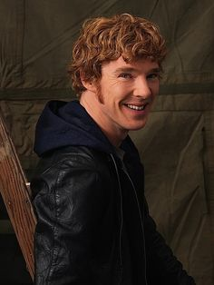 He looks good with any kind of hair. Brunette, ginger, blond. It's great.