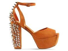 I can has please? Jeffrey Campbell Perfect Spike in Black Silver at Solestruck.com