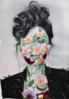 so f...king pretty #art #flowers