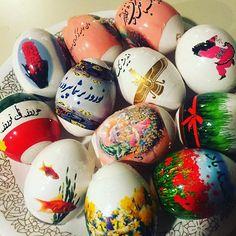 Haft-sin Eggs #eggs #haftsin #persian #irooni #spring