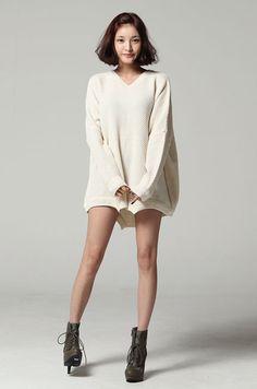 No.1 Korean Fashion  - sweater dress