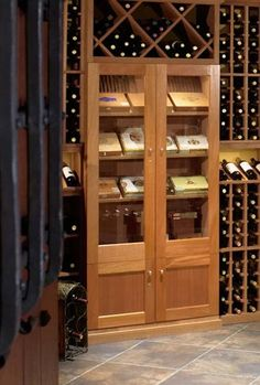 Built In Vigilant Cigar Cabinet A Wine Cellar