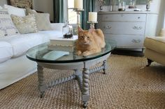 cats, enjoying antique furniture | interiors & finished pieces