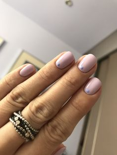Spring nails Lavender & blue