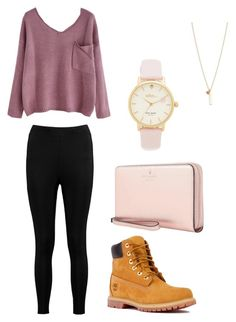 """""""Untitled #123"""" by natalie001 on Polyvore featuring Timberland, Boohoo and Kate Spade"""