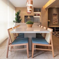 Living Room Decor, Dining Room, Dining Table, Sweet Home, Interiores Design, Home Decor Inspiration, Home Furniture, Architecture Design, New Homes