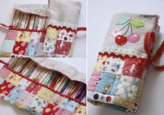 Cherry Heart: love this needle case