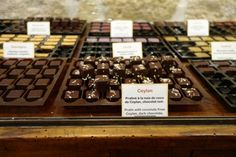 Mococha chocolates Paris. Chocolate fanatic Marie-Hélène Gantois is selling the creations from not one but three master chocolatiers, including Fabrice Gillotte (an MOF from Dijon), Jacques Bellanger (an MOF from Le Mans) and Johann Dubois. You can fill a box with chocolates from all three if you want, or take a sachet to nibble on the go. In winter, there's a bar for hot chocolate and in summer, ice cream cones.