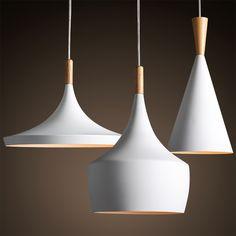 Nieuwe! Gratis verzending creatieve, moderne minimalistische nordic stijl woonkamer witte lamp slaapkamer restaurant cafe bar bar kroonluchter in van hanglampen op AliExpress.com | Alibaba Groep