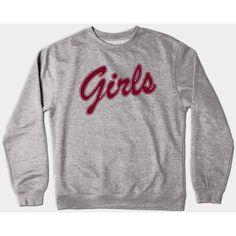 Tv Crewneck Sweatshirt ($35) ❤ liked on Polyvore featuring tops, hoodies, sweatshirts, crew neck tops, crew neck sweatshirts, crew top, crew-neck tops and crewneck sweatshirt
