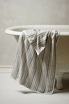 Sea Stripe Bath Towel