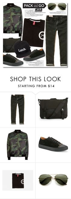 """Pack and Go: Labor Day"" by latch-apparel-co ❤ liked on Polyvore featuring Hollister Co., Topman, DAMIR DOMA, ZeroUV, men's fashion, menswear, contestentry, Packandgo, laborday and latchapparel"