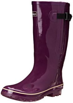2520e23bba6 Extra Wide Calf Women s Rubber Rain Boots  Up to 21 Inch Calf - This is