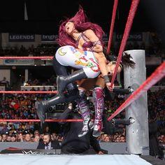 Charlotte vs. Sasha Banks vs. Bayley – Raw Women's Championship Triple Threat Match: photos