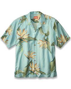 Tommy Bahama Jungle Bells Camp Shirt 2014 Christmas