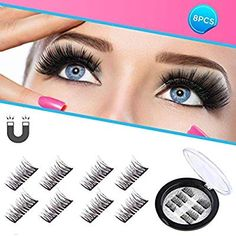 Beauty Essentials Initiative 1 Pair Women Lady Natural Soft Handmade Real Horse Hair Eye Lashes Luxury Thick Fake False Eyelashes Makeup Tools Beauty & Health