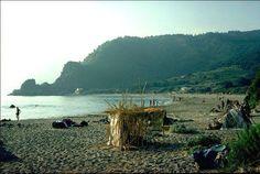 Kontogialos long time ago ! Hillside Village, Corfu Town, Corfu Island, Cypress Trees, Geology, Lush, Greece, Scenery, Journey