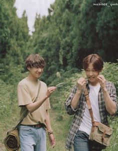 Seungyoon and Nam Taehyung