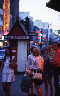 #Montreal | Summer of 1969 | #Sixties