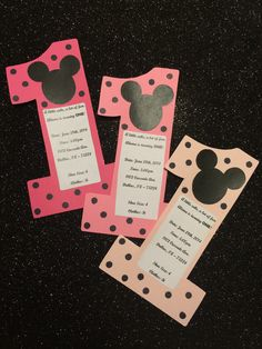 Do it yourself invitations p a r t why bc i gotta pinterest diy minnie mouse invites solutioingenieria Images